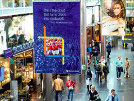 Airport Digital Spectacular Advertising Displays