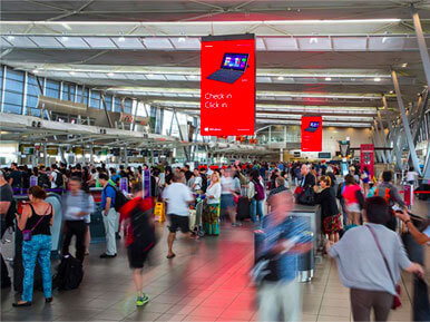 Bogota Airport Digital Spectacular Advertising
