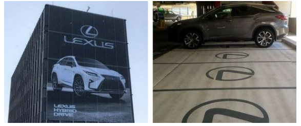 Lexus Airport Advertising