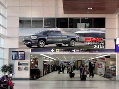 Hamburg Airport Overhead Banner Advertising