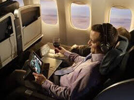 In-Flight Tablet Advertising