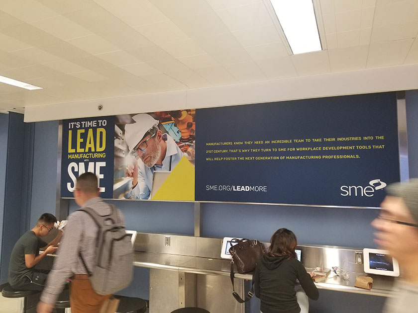 ORD Advertising: Charging Station Wrap